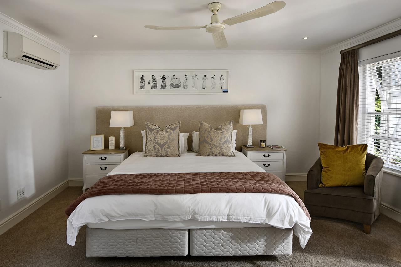 chambre à coucher bien nette